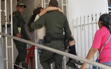 policia ninas el carmen de bolivar